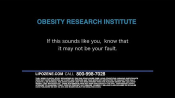 Lipozene TV Spot, 'Losing Weight'