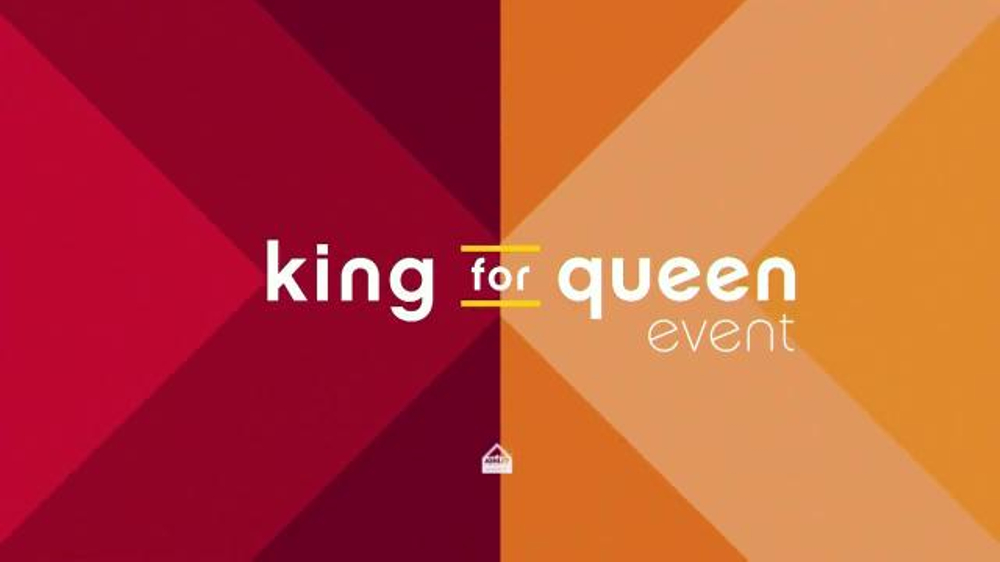 Ashley Furniture Homestore Columbus Day King For Queen Sale Tv Commercial Save Ispot Tv