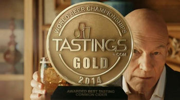 Strongbow Hard Cider TV Spot, 'In Our Shot' Featuring Patrick Stewart