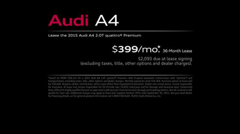 2015 Audi A4 TV Spot, 'Toll Booth' - Thumbnail 8