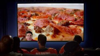 Papa John's Monster Toppings Pizza TV Spot, 'Film Room' Ft. Peyton Manning - 3554 commercial airings