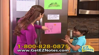 EZ Notes TV Spot, 'Easy to Remember'