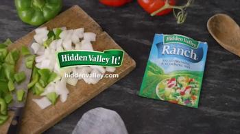 Hidden Valley Original Ranch Salad & Seasoning Mix TV Spot, 'One Skillet'