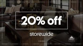 ... Ashley Furniture Homestore Columbus Day Sale TV Spot, U0027Sail Into  Savingsu0027   Thumbnail ...