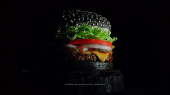 Burger King A1 Halloween Whopper TV Spot, 'Dripping with A1'