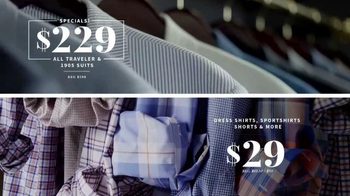 JoS. A. Bank Labor Day Sale TV Spot, 'Suits, Dress Shirts, Shorts and More'