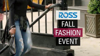Ross Fall Fashion Event TV Spot, 'Trends and Savings'