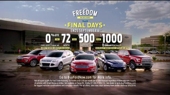 Ford Freedom Sales Event TV Spot, 'Labor Day Cash' Song by Pitbull - Thumbnail 9