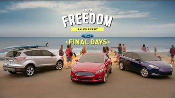 Ford Freedom Sales Event TV Spot, 'Labor Day Cash' Song by Pitbull - Thumbnail 1