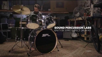 Guitar Center Labor Day Savings Event TV Spot, 'Drum Kits'