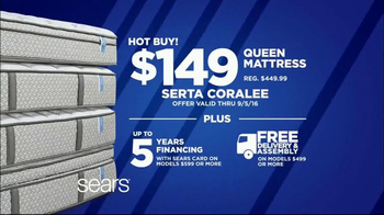 Sears Labor Day Mattress Event Tv Commercial Sleep Like