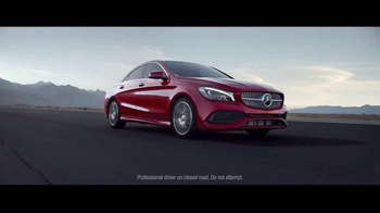 2017 Mercedes-Benz CLA TV Spot, 'Parting'