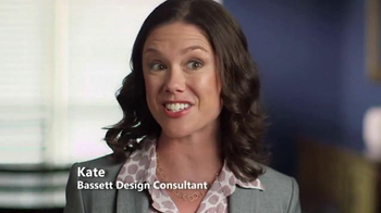 Bassett Labor Day Sale TV Spot, 'HGTV HOME Design Studio: Thad & Angela'