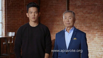 APIA Vote TV Spot, 'Voice Your Vote' Featuring John Cho, George Takei - 71 commercial airings