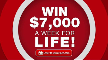 Publishers Clearing House TV Spot, 'Set for Life' Song by Bill Conti