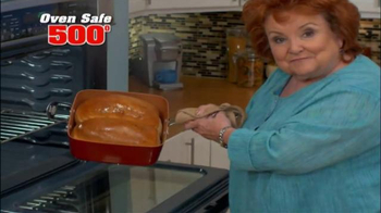 Red Copper Square Pan TV Spot, 'Skillet, Fryer and More'
