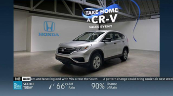 Take Home a CR-V Sales Event: No Wonder thumbnail