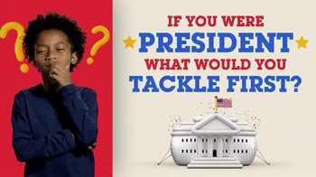 Kids Pick the President, '2016 Election: What Would You Tackle'