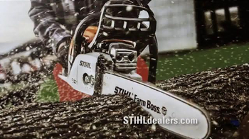 Stihl MS 250 Chainsaw & BG 50 Blower TV Spot, 'Trust'