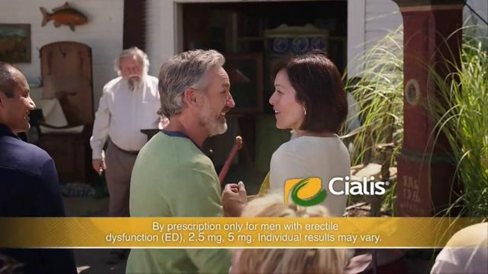Who is the actress in the cialis commercial