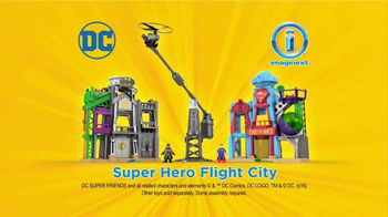 Imaginext DC Super Friends Super Hero Flight City TV Spot, 'Adventure' - Thumbnail 9