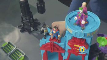 Imaginext DC Super Friends Super Hero Flight City TV Spot, 'Adventure' - Thumbnail 7