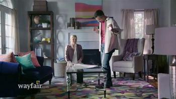 Wayfair TV Spot, 'Save a Ton: Drop the Mic'