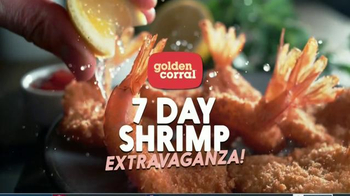 Golden Corral 7 Day Shrimp Extravaganza TV Spot, \'All Kinds of Shrimp\'