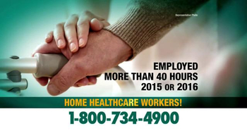 Crumley Roberts TV Spot, 'Home Healthcare Workers'