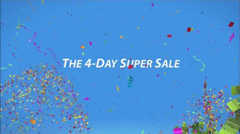 Sherwin-Williams 4-Day Super Sale TV Spot, 'Save'