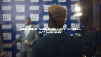 Head & Shoulders TV Spot, 'Shoulders of Greatness' Feat. Odell Beckham Jr. - Thumbnail 10