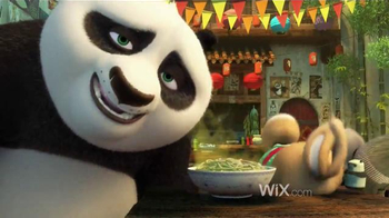 Wix.com TV Spot, 'Kung Fu Panda Masters the Power of Wix'
