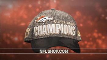 NFL Shop Super Bowl 50 Trophy Collection TV Spot, 'Denver Broncos'