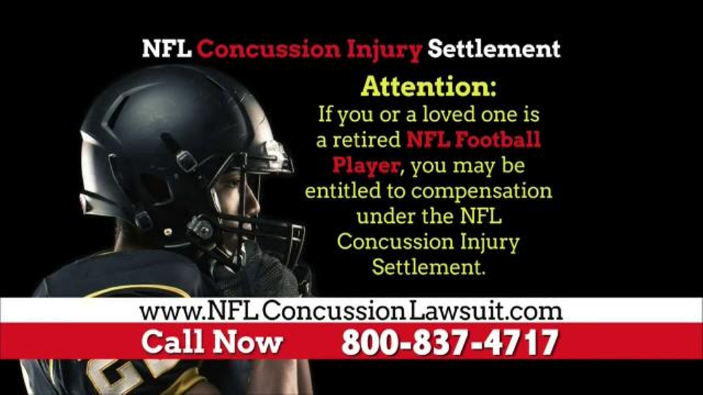 Pulaski Law Firm >> NFL Concussion Lawsuit TV Commercial, 'NFL Football Player ...