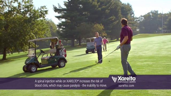 Xarelto TV Spot, 'In Common' Ft. Kevin Nealon, Chris Bosh, Arnold Palmer