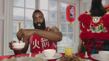 NBA TV Spot, 'Dining Table' Feat. Stephen Curry, Jeremy Lin, James Harden - Thumbnail 4