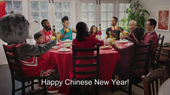NBA TV Spot, 'Dining Table' Feat. Stephen Curry, Jeremy Lin, James Harden - Thumbnail 8