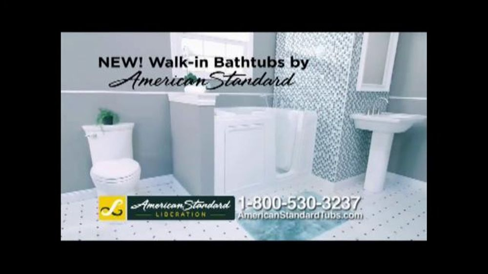 american standard liberation walkin bathtub tv commercial u0027ease of useu0027 ispottv - American Standard Tubs