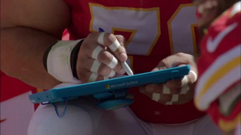 Microsoft Surface TV Spot, 'Adjustment of the Week: Steelers vs. Broncos' - 1 commercial airings