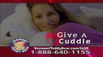 Vermont Teddy Bear Lovey Buddy TV Spot, 'Snuggle Up'