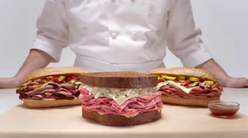 Arby's Big City Sandwiches TV Spot, 'Who You Are'