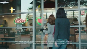 Subway Footlong Fest TV Spot, 'Six Dollars Only'