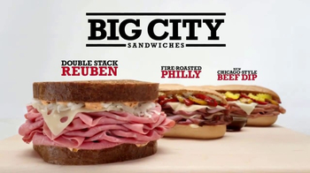 Arby's Big City Sandwiches TV Spot, 'Looking'