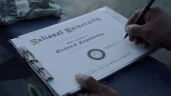 National University TV Spot, 'Your Degree Is Shared By All'