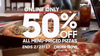 Pizza Hut TV Spot, '50 Percent Off Award'
