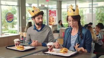 Burger King Croissan'wich TV Spot, 'What She Said'