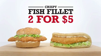 Arby's Crispy Fish Fillet TV Spot, 'The Difference'