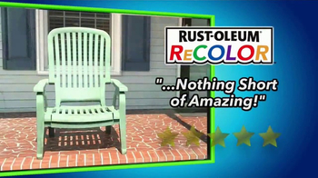 Wipe New Rust-Oleum ReColor TV Spot, 'Great Results'