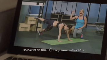Daily Burn TV Spot, 'Black Fire' Featuring Bob Harper