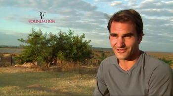Tennis Warehouse TV Spot, 'Roger Federer Foundation: Products'